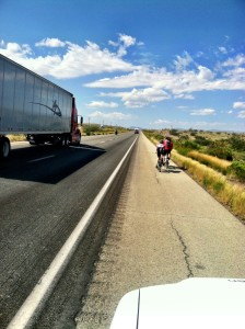 Mike, Scoob & Gene riding on Interstate 10